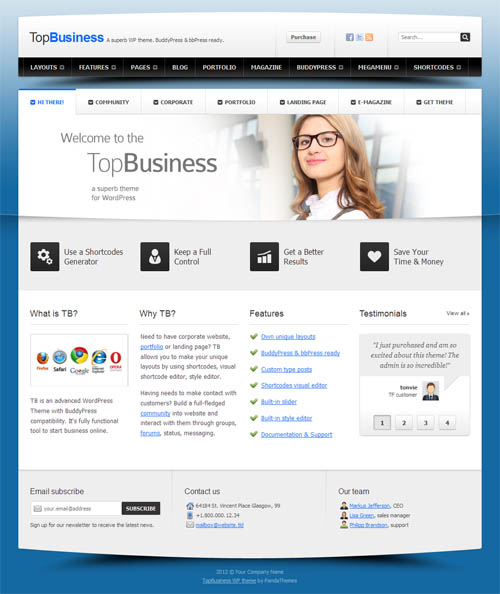 Top Business WordPress Theme
