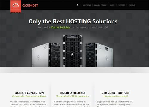 Cloud Host Web Hosting WordPress Theme