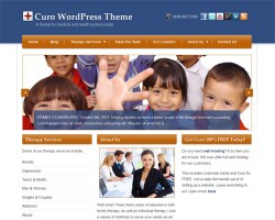 Curo Medical and Health WordPress Theme