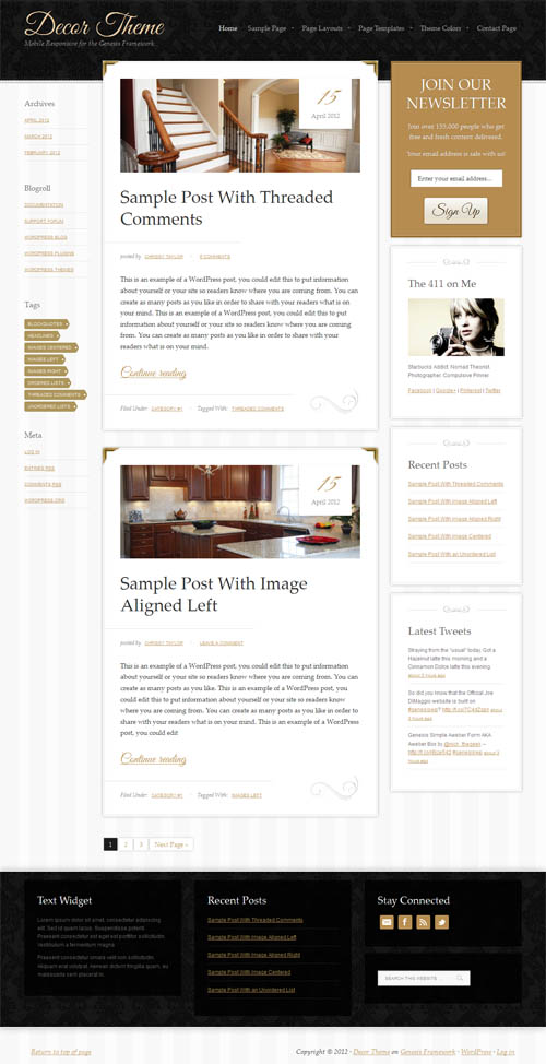 90+ Beautiful Feminine WordPress Themes for Women (2018)