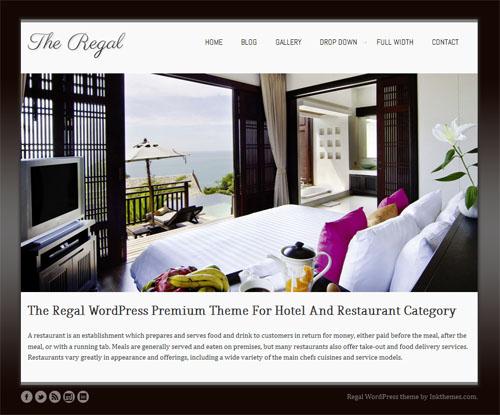 Regal Responsive WordPress Theme