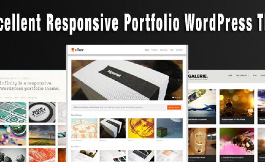 25 Excellent Responsive Portfolio WordPress Themes