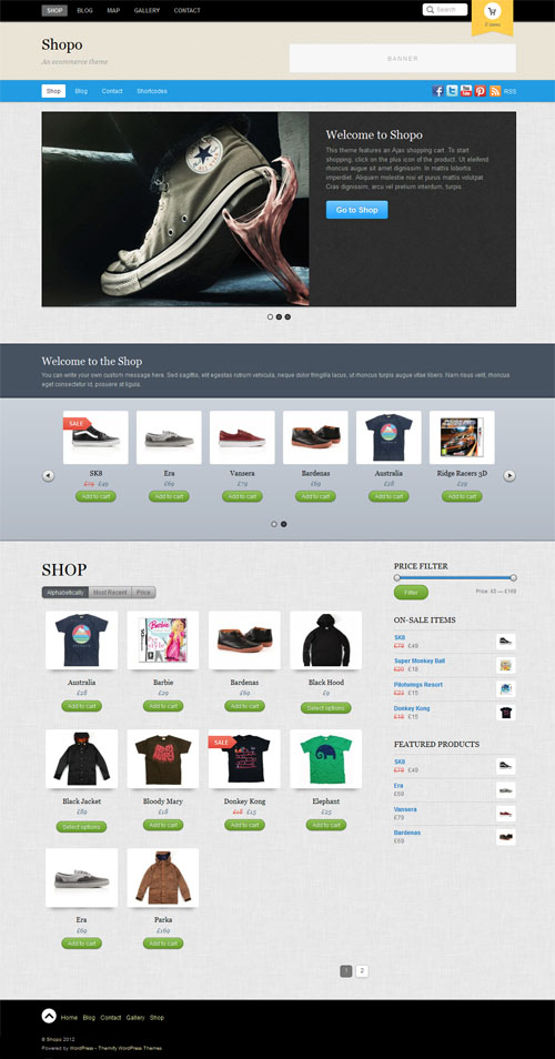 Shopo WordPress Ecommerce Theme