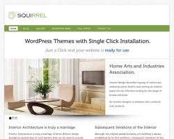 Squirrel – A Fresh and Clean, Multipurpose Premium WordPress Theme