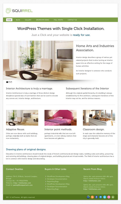 Multipurpose Premium WordPress Theme