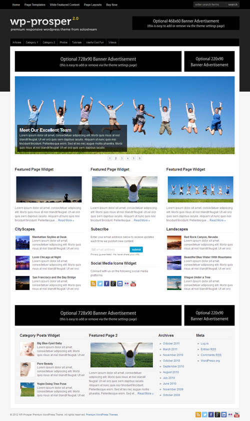 WP Prosper 2.0 WordPress Theme