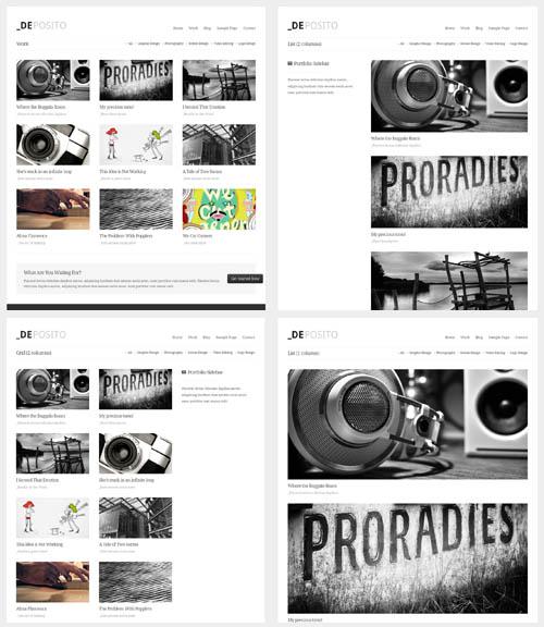 portfolio layouts