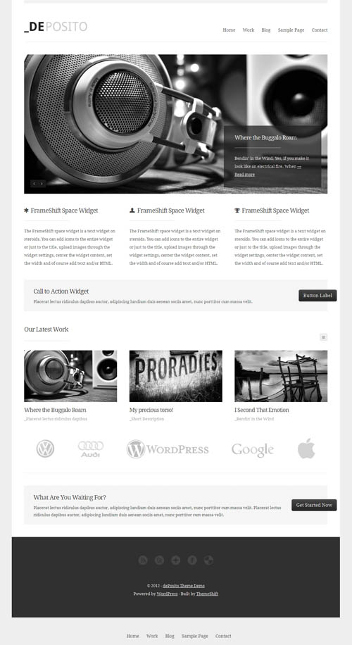 DePosito WordPress Theme