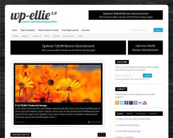 WP Ellie 2.0 – A Clean and Flexible Responsive Premium WordPress Theme