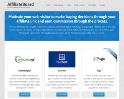 Affiliate WordPress Theme