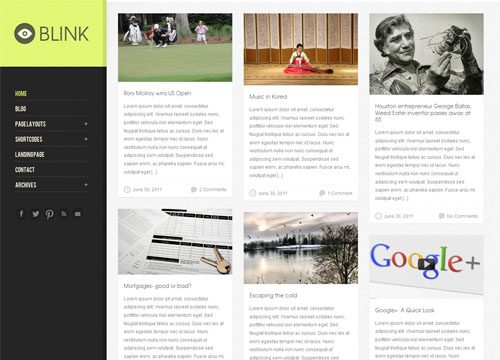 Blink Premium WordPress Theme