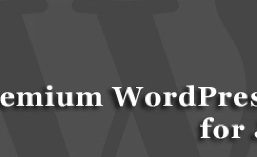 25 New Premium WordPress Themes for June 2012