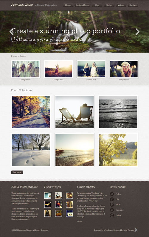 photostore theme
