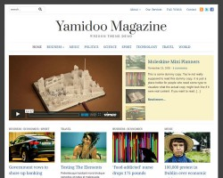 Yamidoo Magazine 2.0 Responsive WordPress Theme