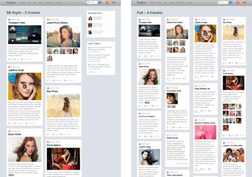 postline layouts