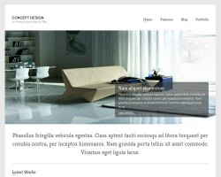 Concept Portfolio Business WordPress Theme