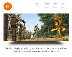 Hydrogen Business Portfolio WordPress Theme