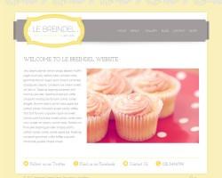 Le Breindel Feminine Business WordPress Theme
