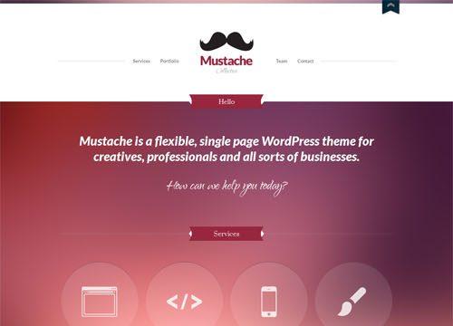 Single Page Responsive Business Portfolio WordPress Theme