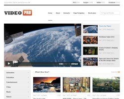 Video Pro WordPress Theme