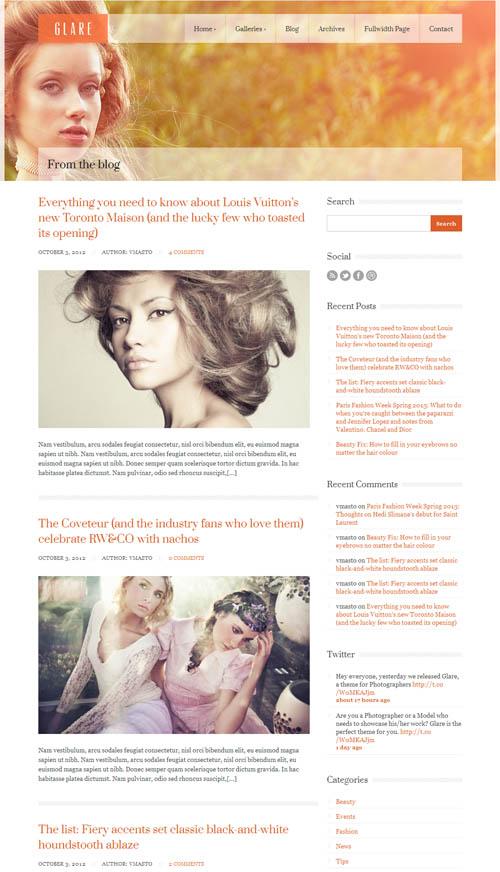 glare blog