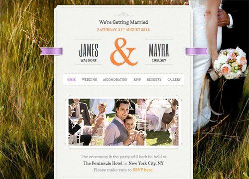 The Best Wedding WordPress Themes