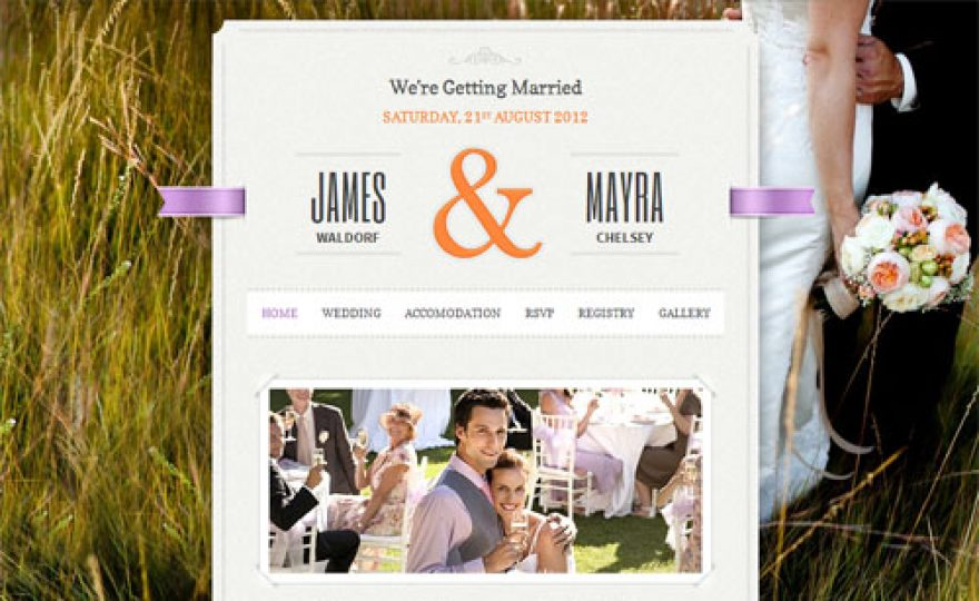 The Best Wedding WordPress Themes