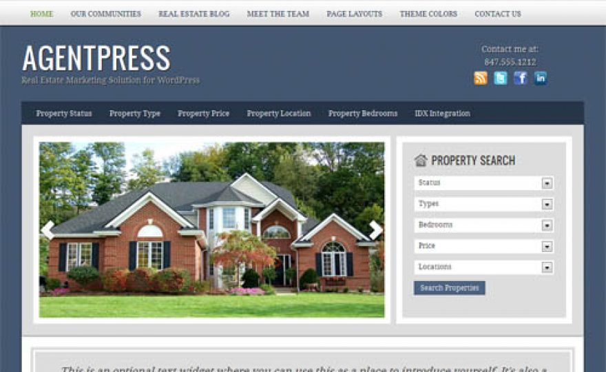 50+ Professional Real Estate WordPress Themes
