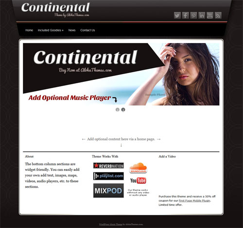continental music theme