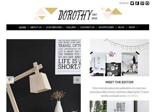 Dorothy Responsive WordPress Theme