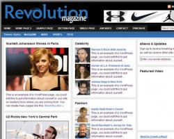 Revolution Magazine WordPress Theme