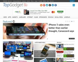 Top Gadget WordPress Theme