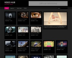 Video Hub Responsive WordPress Theme