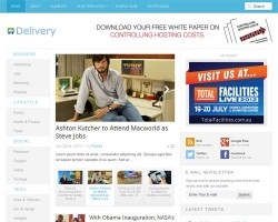 Delivery Blog Magazine WordPress Theme