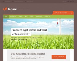 Responsive Non Profit Environmental WordPress Theme – In Care