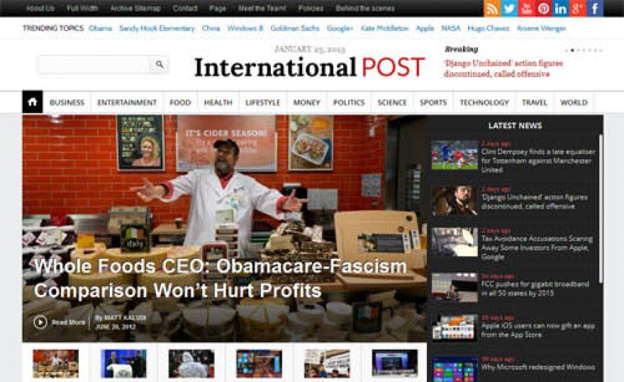 Responsive Newspaper WordPress Theme