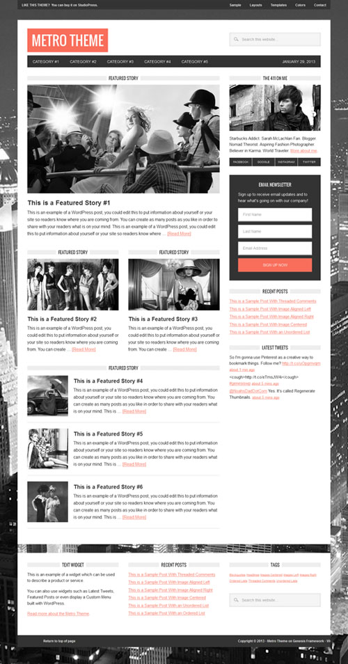 Metro Magazine Premium WordPress Theme