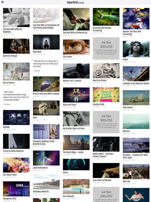 Grid WordPress Themes 20+ Best Pinterest-Like WordPress Themes