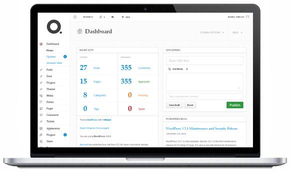 DP Dashboard Plugin – WordPress Admin Theme