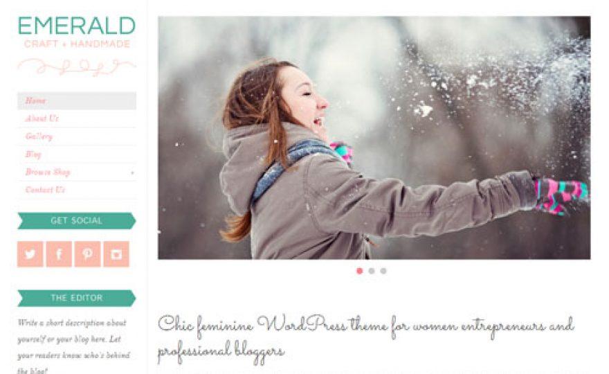 Emerald Responsive Premium WordPress Theme