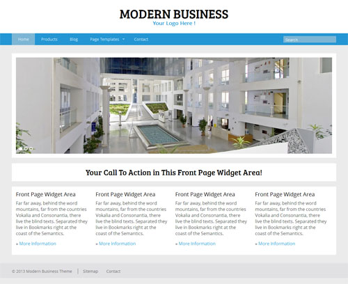 Modern Business Premium WordPress Theme