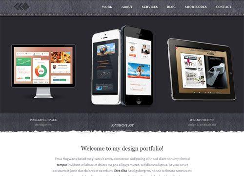 Pixel Whiz Portfolio WordPress Theme