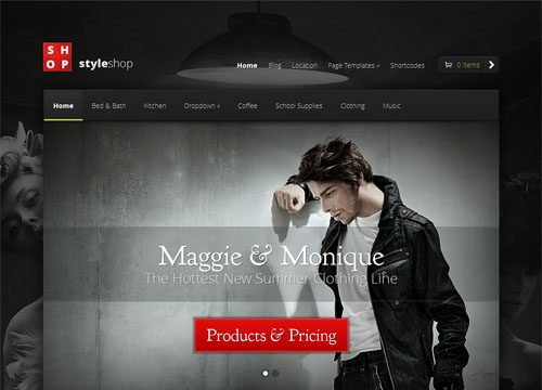 Style Shop – A Premium Responsive Ecommerce WordPress Theme