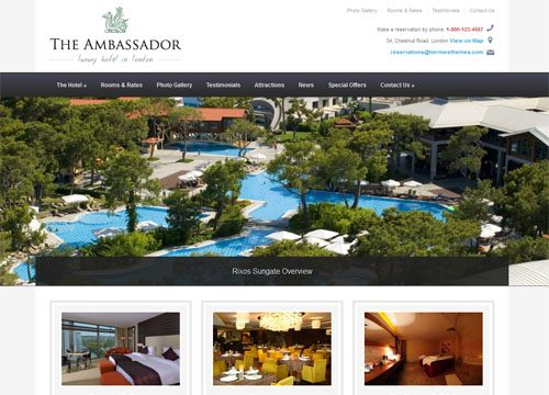 The Best Hotel, Resort & Accommodation WordPress Themes