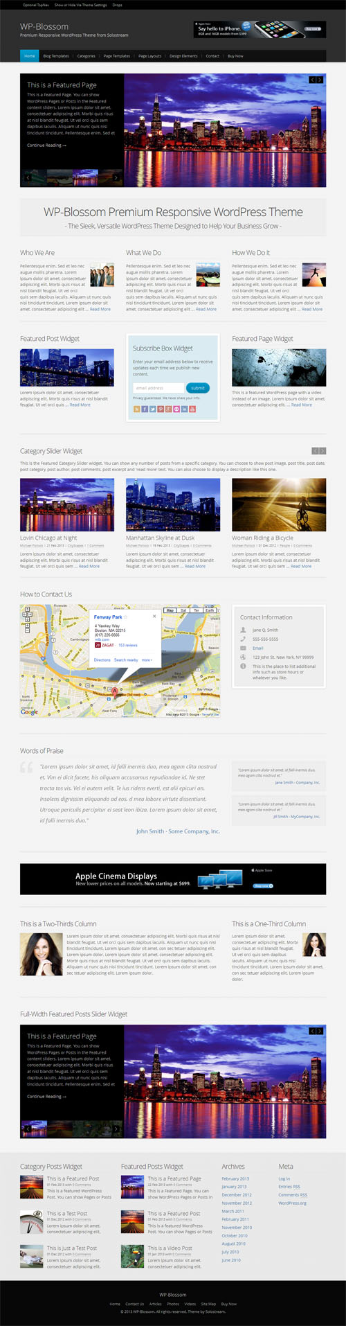 WP Blossom WordPress Theme