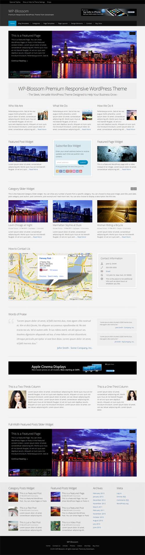 WP Blossom WordPress Theme