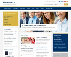 Responsive Education / Non Profit WordPress Theme