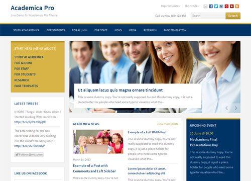 Responsive Education / Non Profit WordPress Theme