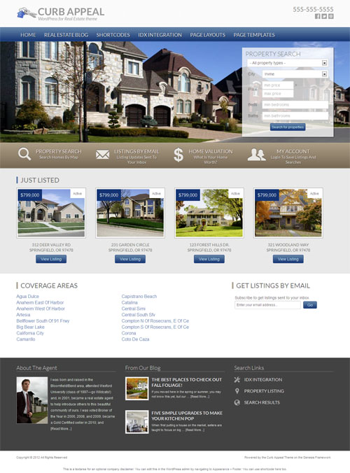 40 Best Real Estate WordPress Themes 2017 – Idx Web Framework