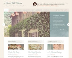 Elegant Premium WordPress Theme for Women – Fabric8ed